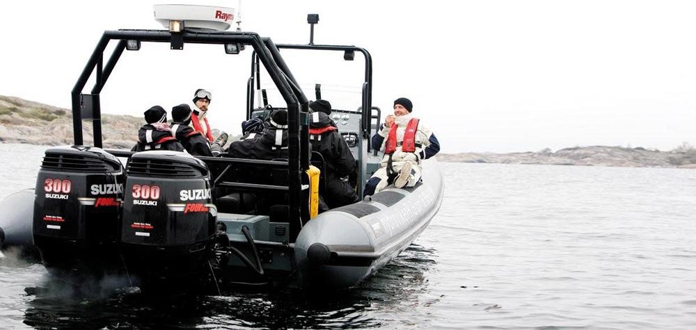 Ribbåt i Stockholm - Sightseeing i skärgården Image