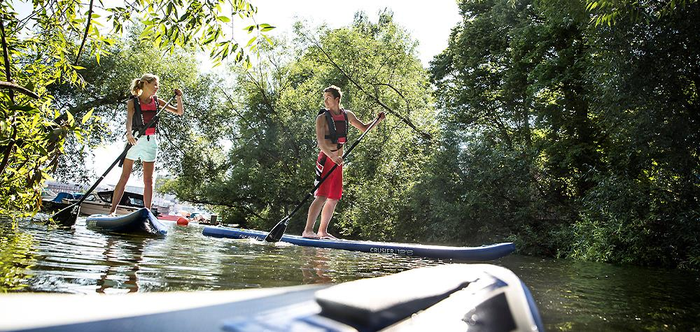 Prova SUP - Stand up paddle i Stockholm